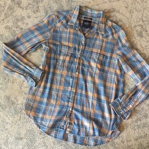 American Eagle plaid shirt sz M